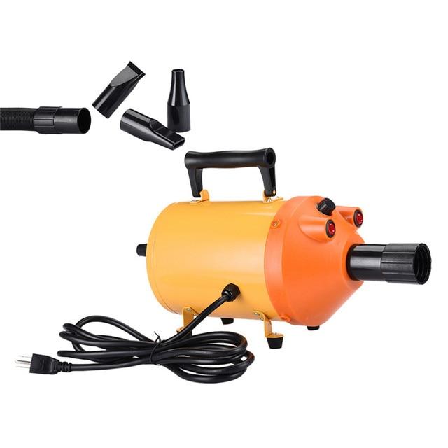 2800W 110V-220 V  Pet Grooming Dryer Pet Dog Cat Grooming Force Dryer  Heater AU/EU/UK /US 2 Color 1Pcs