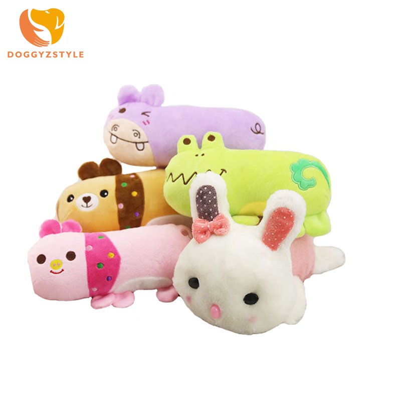 4 Style Pet Dogs Cat Sleeping Partner French Bulldog Toy Dog Pet Plush Toys Cute Carton Animal Design Sound Toys DOGGYZSTYLE