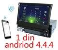 Android 4.4.4 Car dvd player gps de navegação GPS do carro Do Carro universal 1 din DVD player GPS radio free mapas de cartão SD