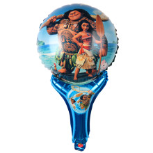 MOANA Handheld stickBalloons Inflatable classic toys Balloon happy Birthday balloons Party Supplies air balloons(China)
