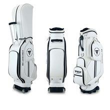 Наименование ПГМ подлинная Сумка для гольфа Стандартный пакет с крышкой шкива Профессиональный кожаный PU Водонепроницаемый Гольф-клуб Сумка синий белый