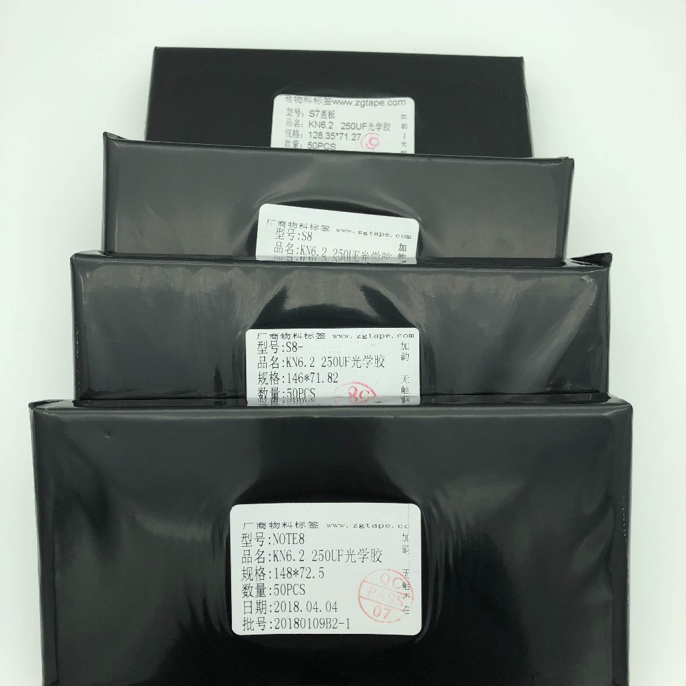 Kawin KN 6.2 250um Hybrid OCA Film per S7 bordo/s8/s8 plus/Nota 8 OCA adesivo per Samsung incrinato il vetro di riparazione lcd di riparazione dello schermo