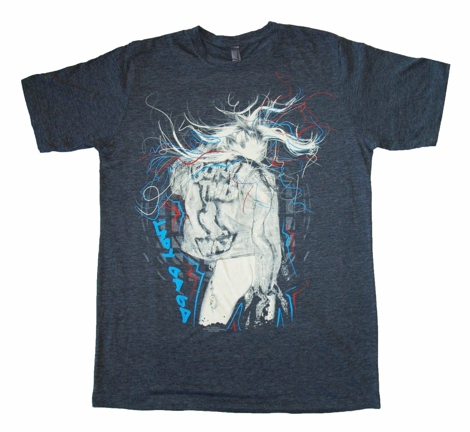 LADY GAGA - Scribbles - Official Licensed T SHIRT Brand New Arrival MenS Short