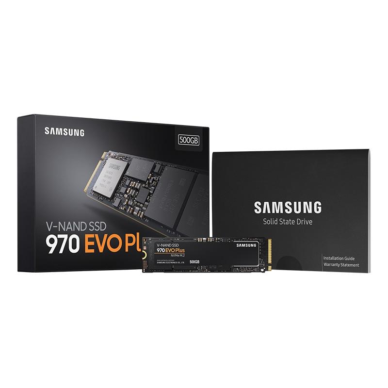 Samsung SSD 970 EVO Plus 250 GB 500 GB 1 TB NVMe M.2 2280 NVMe Interne SSD Solid State disque dur SSD PCIe 3.0x4, NVMe 1.3