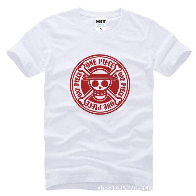 One Piece Emblem Shirt [Different Colors]