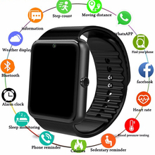 2019 Smart Watch GT08 Clock Sim Card Push Message Bluetooth Connectivity For Android IOS apple Phone