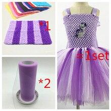 526261c9e6 DIY hacer una tela de traje de niñas Tutu falda de los niños Ballet niños  vestido