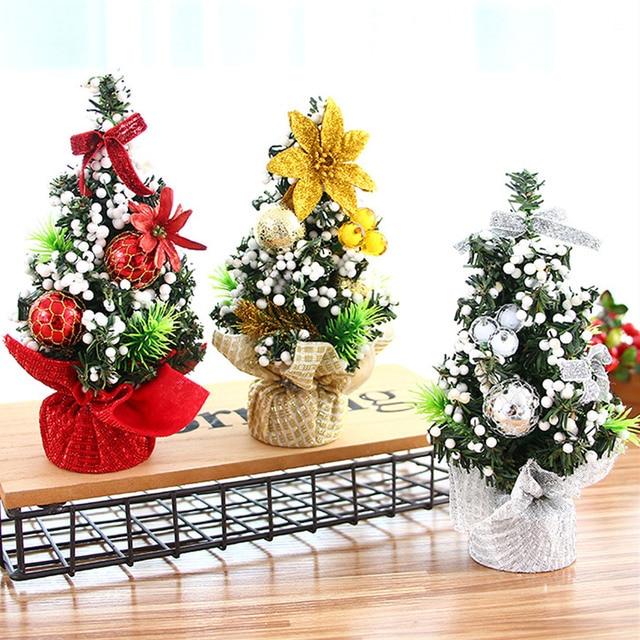 Bevigac Mini Christmas Tree Table Decoration Xmas Ornament Decor For