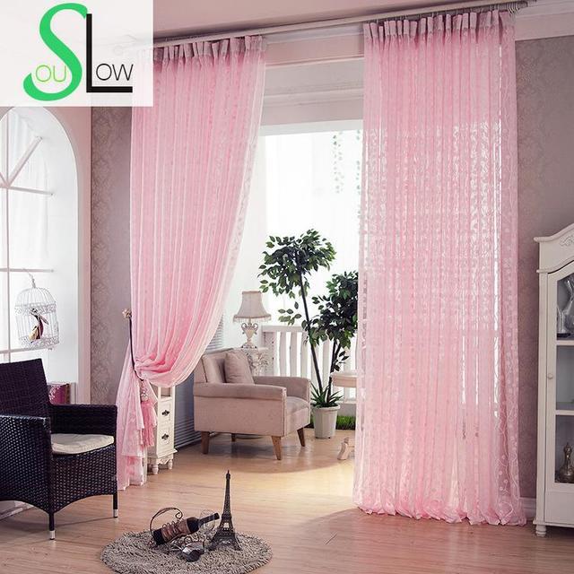 trage soul roze grijs beige licht koffie donkere witte boom pastorale gordijnen cortinas tulle voor woonkamer