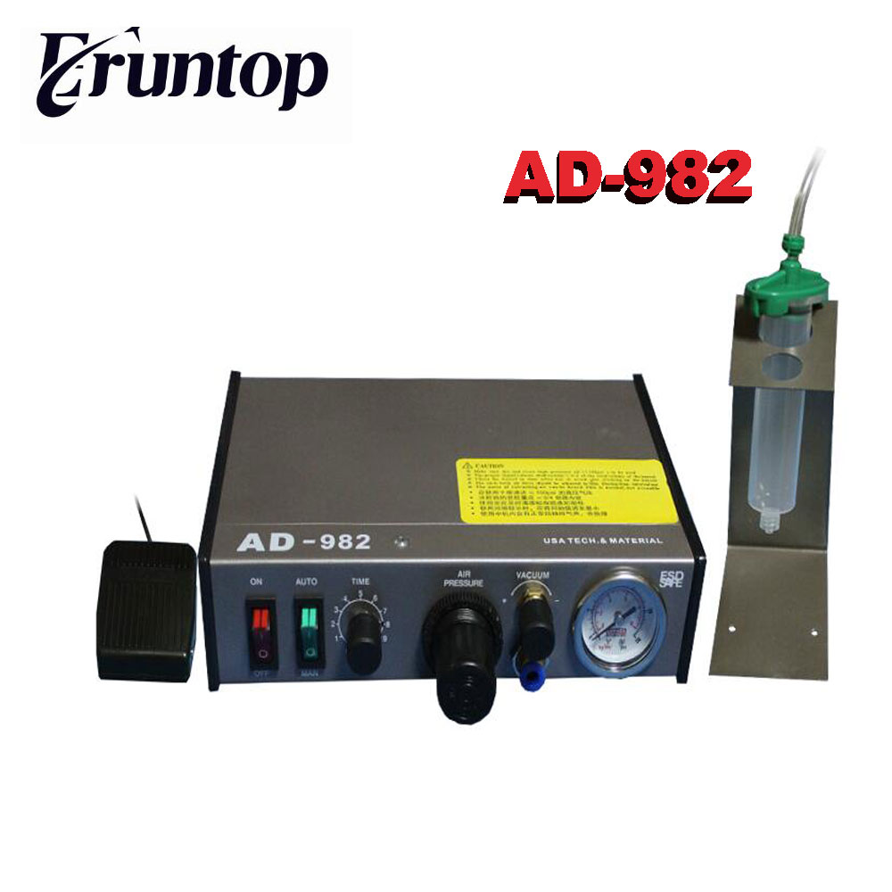 Auto Glue Dispenser Solder fluxes Paste Liquid Controller Dropper AD-982