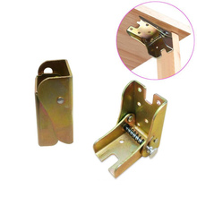 90 Degree Spring Folding Hinge Table Table Foot Support Sofa Cabinet Hinge Jewelry Box Furniture Hardware Folding Table Legs