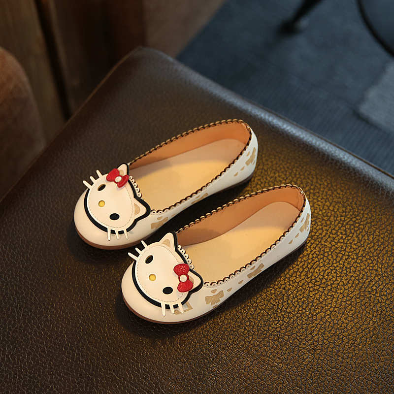 Aliexpress.com : Buy New Princess Childrenu0027s Leather Shoes 2017 Summer  Cartoon Cute Girls Single Kids Shoe Fashion Rabbit Soft Bottom Flat  Footwear From ...