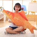 25-120 см Творческий моделирование рыбы подушки подушки для опираясь на плюшевые игрушки Золотая Рыбка кукла рождения мальчиков и девушки детей игрушки