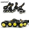 10pcs 24v 3W High Brightness DRL 18mm Eagle Eyes LED Car Work Lights Source Waterproof Parking Lamp Daytime Running LightS CF