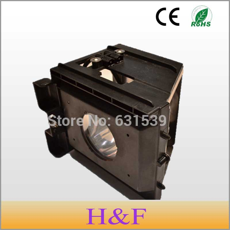 HoneyFly BP96-00826A Rear Replacement Projection Tv Lamp Projector Light With Housing For Samsung HLM4365 HLR4677W HLP4663Lambai pureglare original tv lamp for samsung sp46l6hrx str with housing