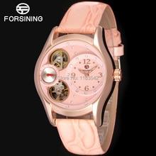 Известный Бренд Forsining Кварцевые Леди наручные часы Кольцо Часы на Женщин Доставка Бесплатно FSL8014Q3R3
