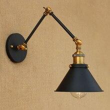 15 см Ретро Лофт промышленный настенный светильник Винтаж качели настенный светильник с длинным кронштейном светильники Эдисона настенные бра аппликации Murales светильник