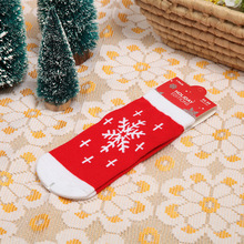 3Pair cotton Christmas baby socks childrens autumn & winter explosions