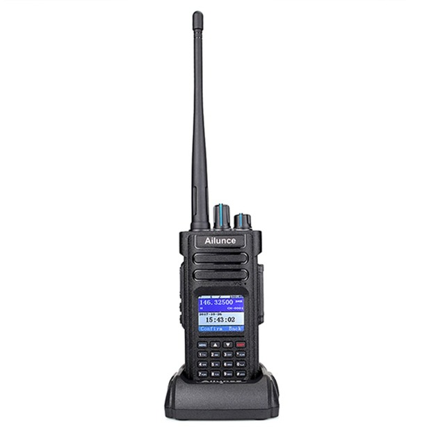 Купить цифровая рация retevis ailunce hd1 двухдиапазонная dmr радио картинки