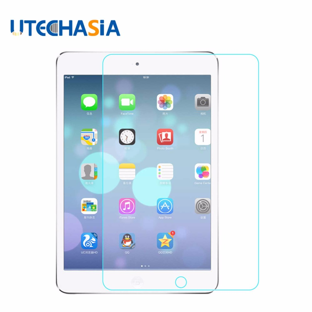 Transparent Tempered Glass Screen Protector Tablet Film For Apple iPad mini 2 3