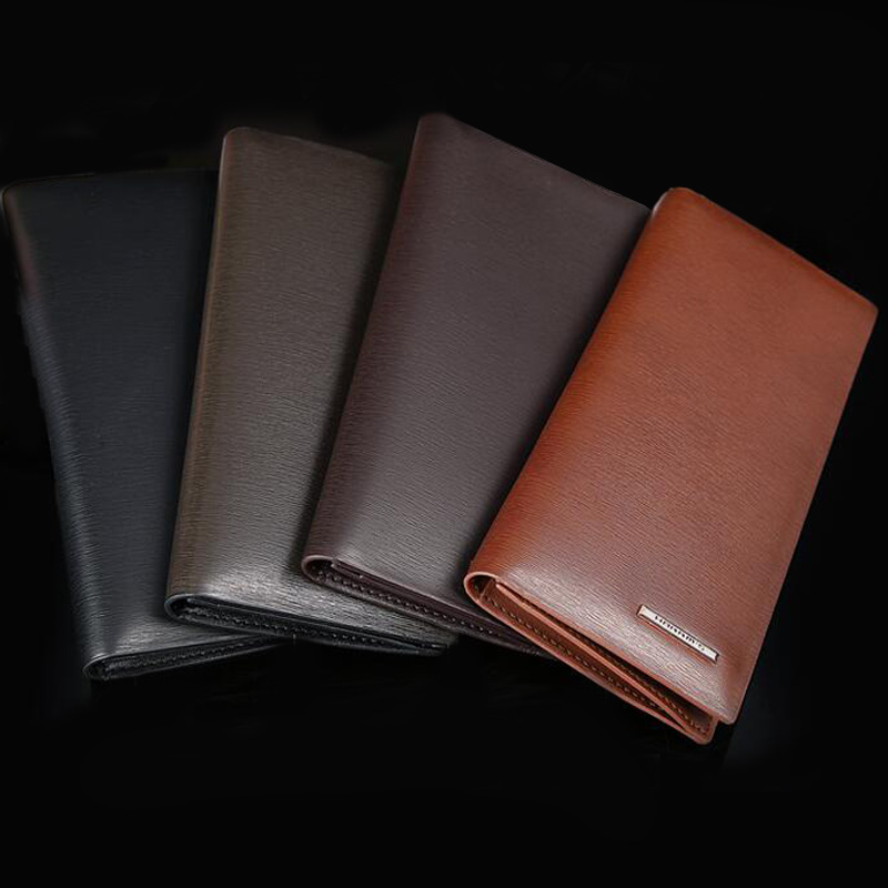 ФОТО Harrm's Men wallets Leather Women Wallets Mens Wallet Leather Genuine Purse Famous Brand 2015 High Quality