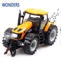 1:32 de alta calidad de Aleación de Deslizamiento agricultor coche de juguete para niños modelo de juguete con música, juguetes educativos del bebé