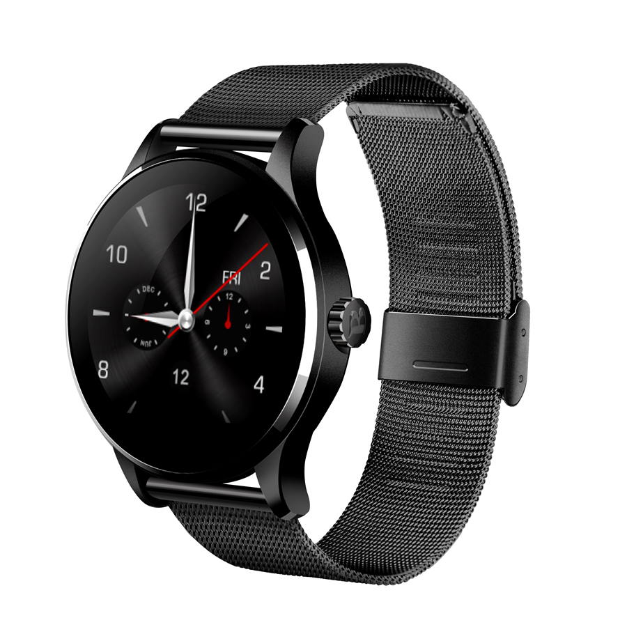 Bluetooth Smart Watch Wrist font b Smartwatch b font Men Wristwatch Wearable Device Metal Strap for