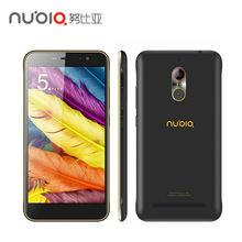 """D'origine zte nubia n1 4g lte téléphone portable mtk6755 octa core 5.5 """"1080 P 3G RAM 64 GB ROM 13.0MP 5000 mAh D'empreintes Digitales mobile téléphone"""