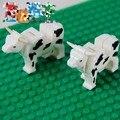 Животных корова совместимы аксессуар bricklink DIY строительный блок кирпич собрать частицы brickset ( 547 )