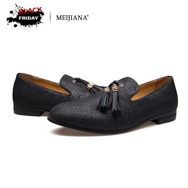 uk availability 28f38 9ad56 Handmade Metal fashion gold Tassel of Loafers Red Bottom Loafers Gentleman  Luxury Fashion Stress Shoes Men Brand Men Shoes-in Men's Casual Shoes from  ...