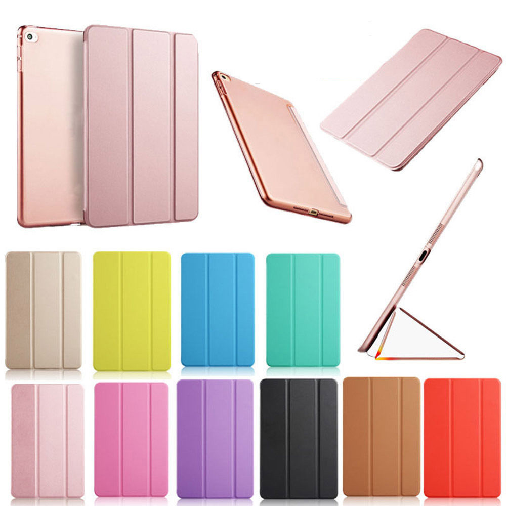 Case For Ipad Air 2 A1566 A1567 Case Cover PU Lether PC Back Ultra Slim Scratch-Resistant Case For Ipad Air 2 For Ipad 6