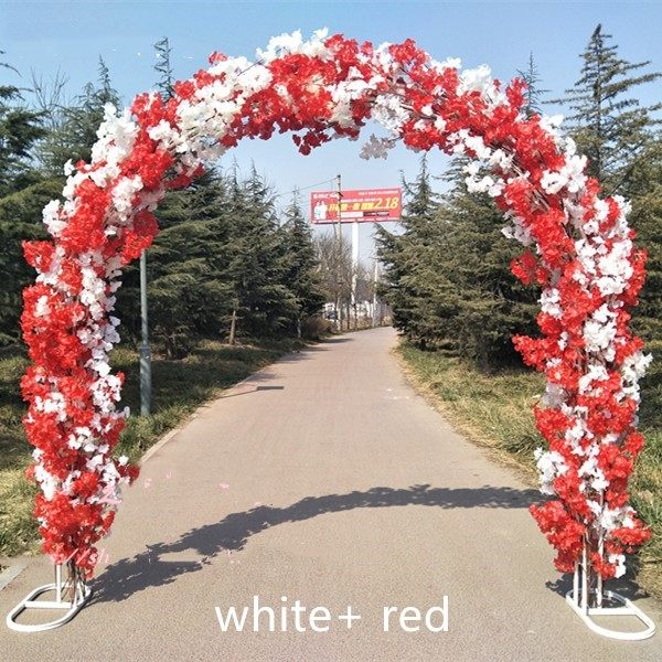 Online shop high quality wedding site layout mall opening arches high quality wedding site layout mall opening arches sets event decoration supplies arch shelfcherry blossoms free shipping junglespirit Gallery