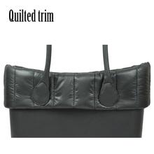 New Classic Obag gesteppte trim Dekoration für Obag Klassische Tasche körper O tasche