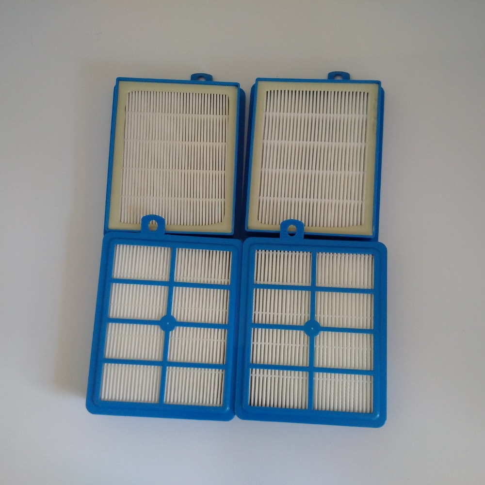 4PC/LOT  Replacement HEPA Filter for  Electrolux  Vacuum All Rgiker Filter Micro Filter Fine Dust Filter EFH12W & EFH13W