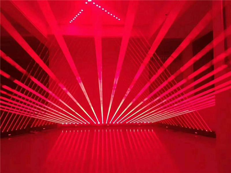 5600MW Moving head RED laser array R638NM 700mW rough spotX8PCS stage party disco KTV bar club theatre studio iluminacion light - 3