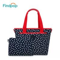 Findpop 2 Set Pcs Handbag Women Casual Composite Bag Large Capacity Crossbody Bags For Women 2018