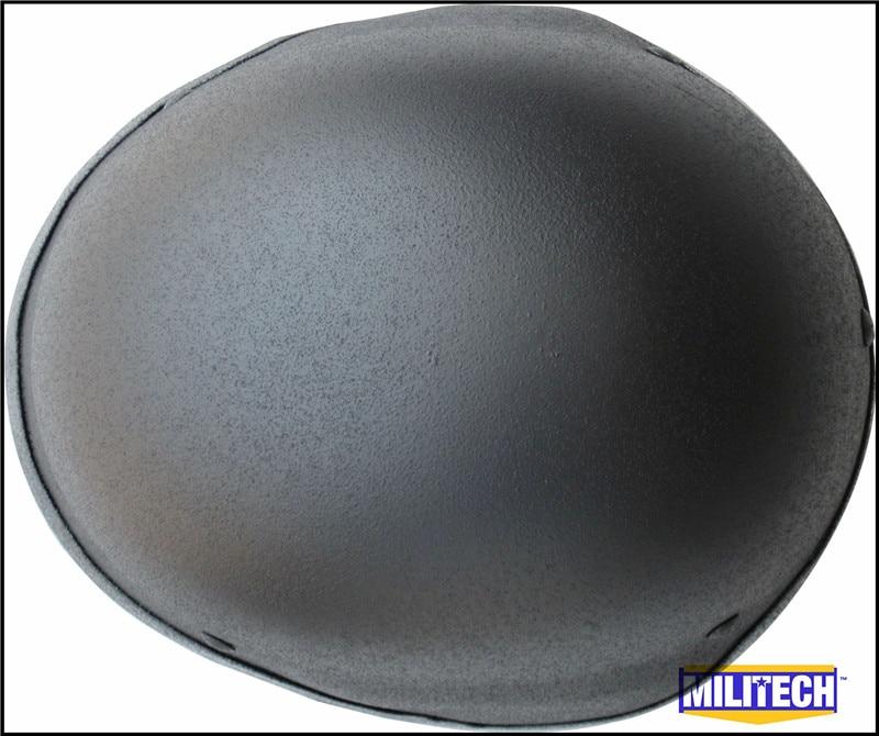 MILITECH NIJ IIIA 3A Black M88 Steel Bullet Prova, Helmeta Steel - Siguria dhe mbrojtja - Foto 3