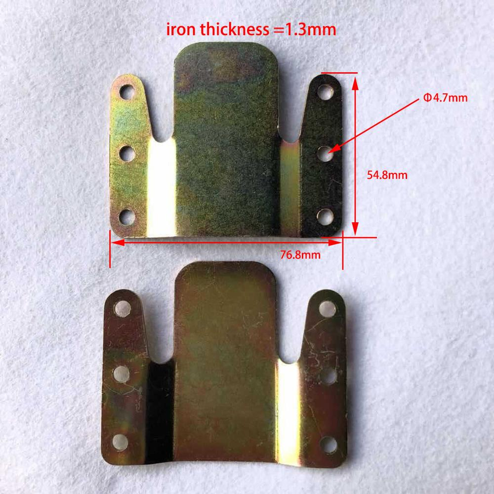 pack of 500pcs sectional sofa connectors for couch furniture interlocking type iron metal connector hinge thickness 1 3mm