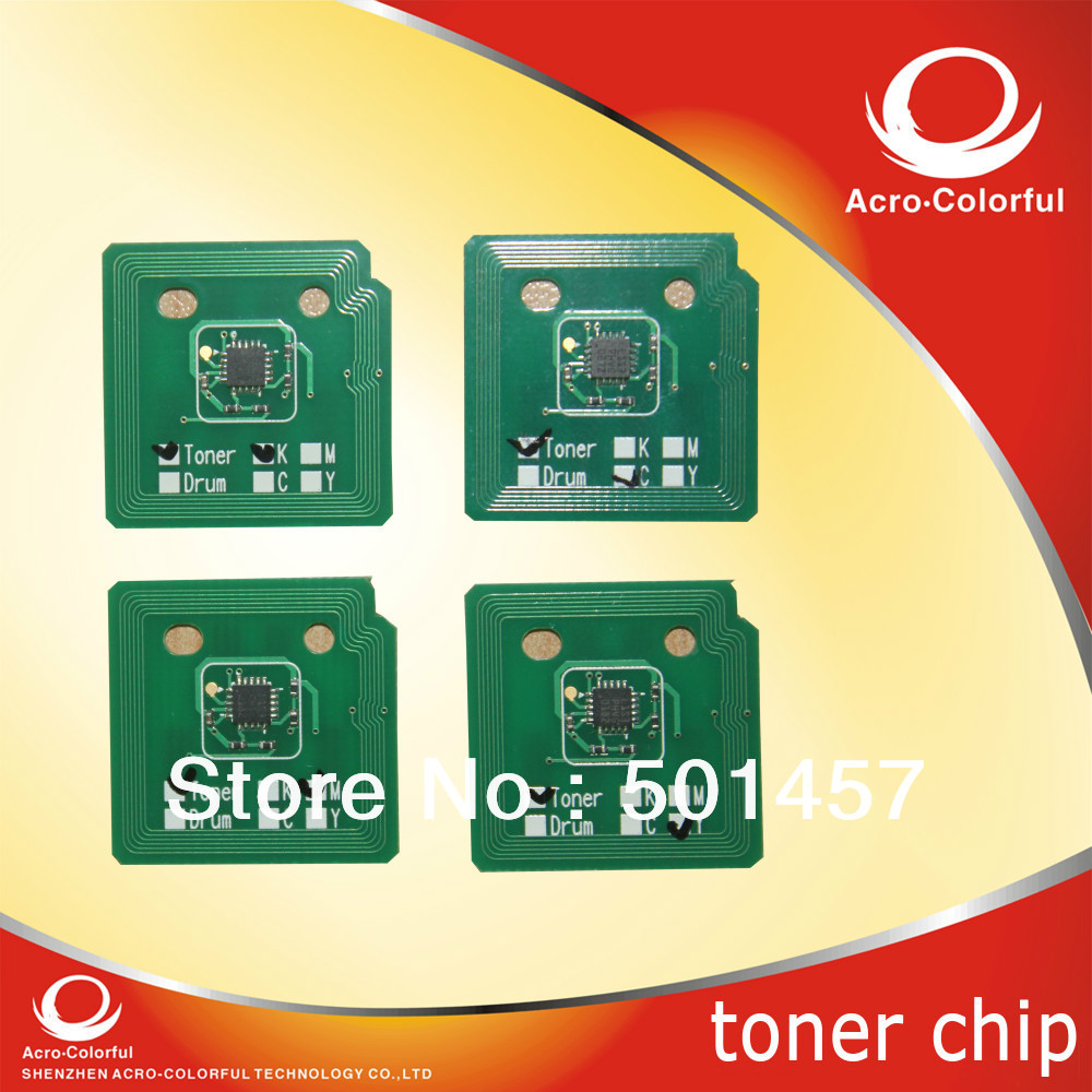 Laser printer spare parts compatible workcentre 7755 7765 7775 reset toner cartridge chip for xerox wc 7756