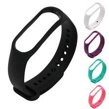 Silicone Wrist Strap for Xiaomi Mi Band 3 Strap Wristband for M3 Miband 3 Straps
