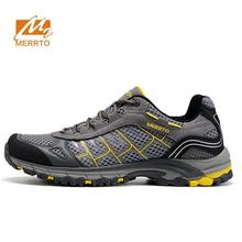 Famous Brand Men's Summer Sports Outdoor Hiking Trekking Shoes Sneakers For Men Mesh Breathable Climbing Mountain Shoes Man