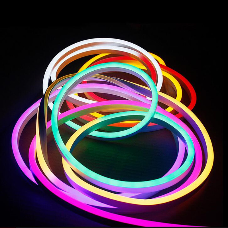 super mini led neon light flexible soft neon led light. Black Bedroom Furniture Sets. Home Design Ideas