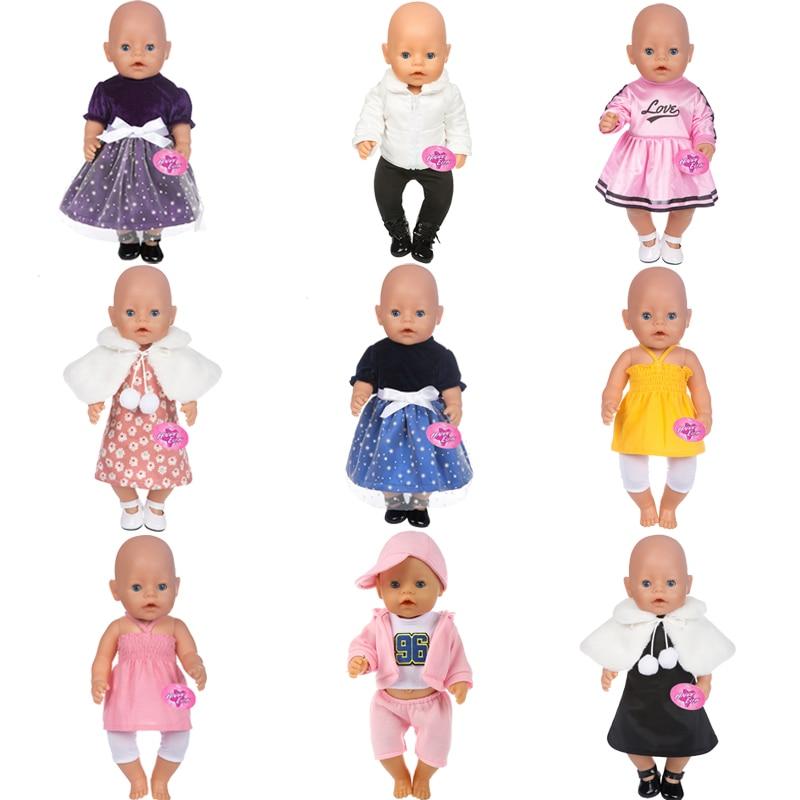 14 видов стилей выбрать Американский Кукла одежда подходит 43 см BABY born Zapf куклы, дети лучший подарок на день рождения