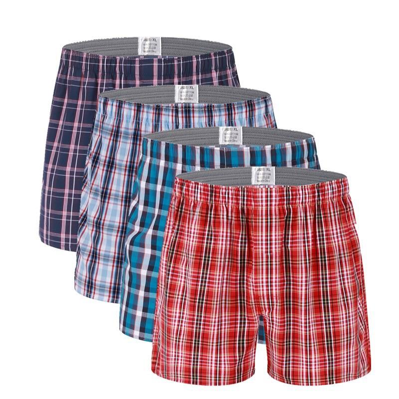 Mens Underwear Boxers Loose Shorts Men'S Panties Cotton Soft Large Arrow Pants At Home Underwear Classic Basics Cueca Boxer Men