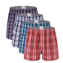 Mens Underwear Boxers Loose Shorts Men'S Panties Cotton Soft Large Arrow Pants A