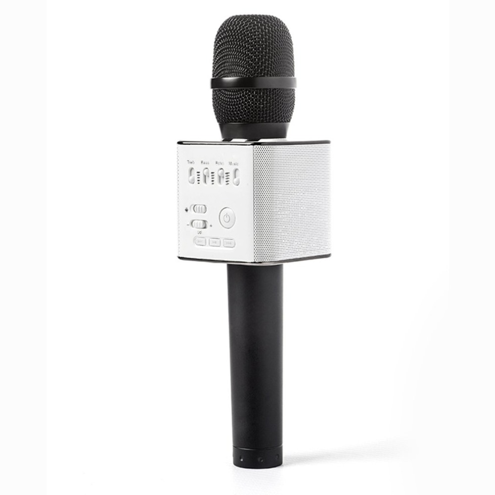 q9 wireless bluetooth karaoke microphone speaker handheld mic usb player for guitar in guitar. Black Bedroom Furniture Sets. Home Design Ideas