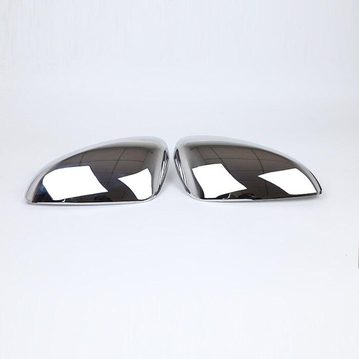 KOUVI ABS Chrome Side Rearview Mirror Cover Sticker Molding Garnish Accessories For 2017 2018 Mazda CX-5 CX5 CX 5 Car styling