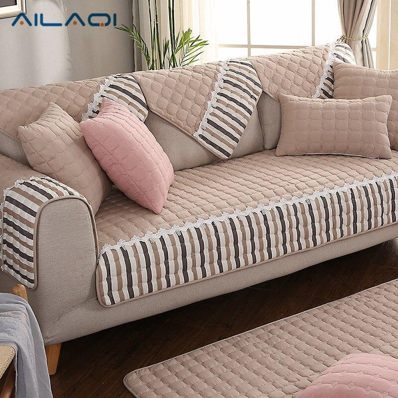 AILAQI 100% Cotton Modern Winter Sofa Sover Box Puzzle