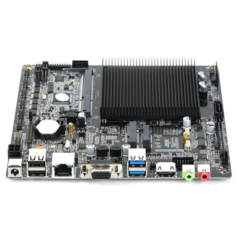 Mini ATX Mainboard Desktop Motherboard for Intel Celeron J1900 Quad-Core Single and Dual Network Port is OptionalMini ATX Mainboard Desktop Motherboard for Intel Celeron J1900 Quad-Core Single and Dual Network Port is Optional