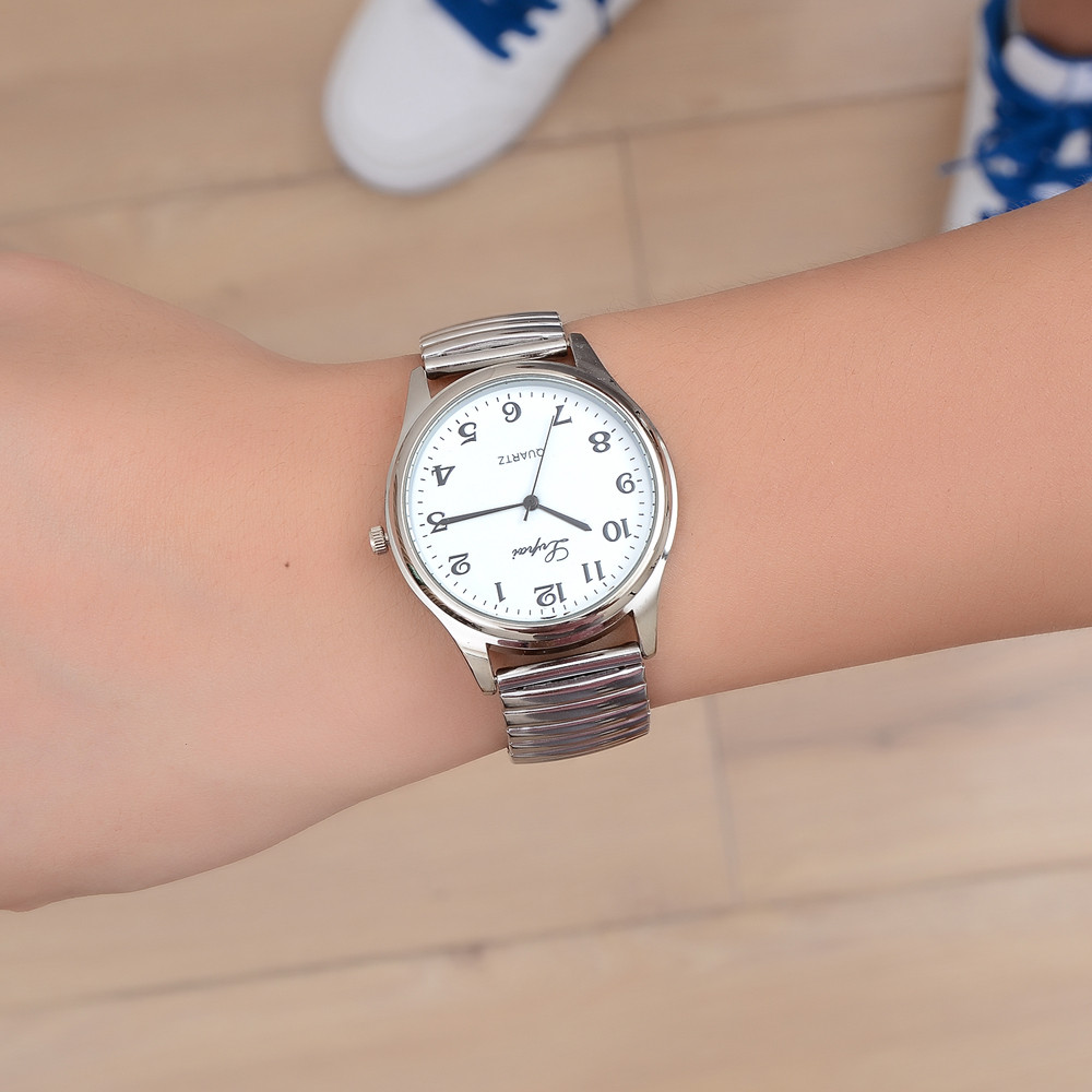 Lvpai Couples Watches Top Brand Luxury Women Casual Quartz Steel Belt Watch Analog Wrist Watch Lover's Watches Stainless Steel